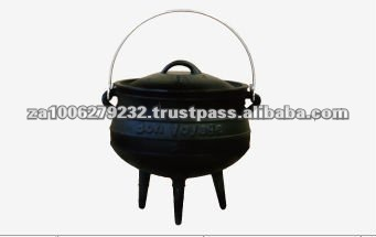 3 Leg High Quality Cast Iron Pot