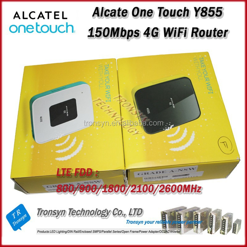 2014 New Arrival Original Unlock LTE FDD 150Mbps Alcatel Mini USB Wireless 3G 4G WiFi Router Y855