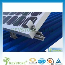 Adjustable tin roof Solar Panel mounting system
