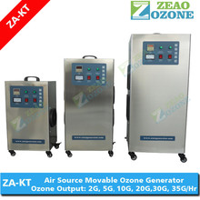 304 stainless steel fish tank water ozonator, air feeding ozone generator for aquaculture