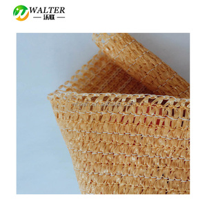 With Professional Production Team Beige Color Garden Flat Wire Sun Shade Net