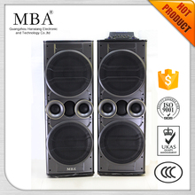 Double 12 inch Woofer Big Power Professional Active Stage Speaker