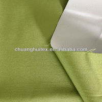 100% polyester slub 3 pass coating blackout fabric for curtain