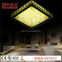 QW9082 lamp led ceiling, antique brass ceiling lamp, bathroom ceiling light cover