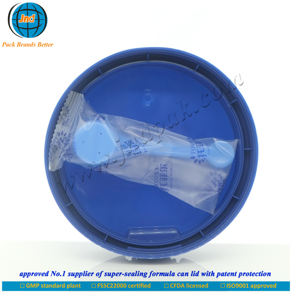 Outstanding plastic can cover for infant milk powder with FSSC22000 certified by GMP standard plant-OEM/ODM acceptable