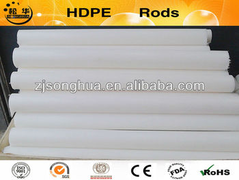 nature white extrusion plastic HDPE rod