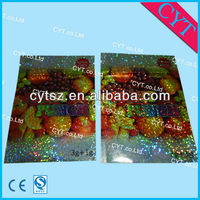 FRUIT PUNCH potpourri packaging bag with laser
