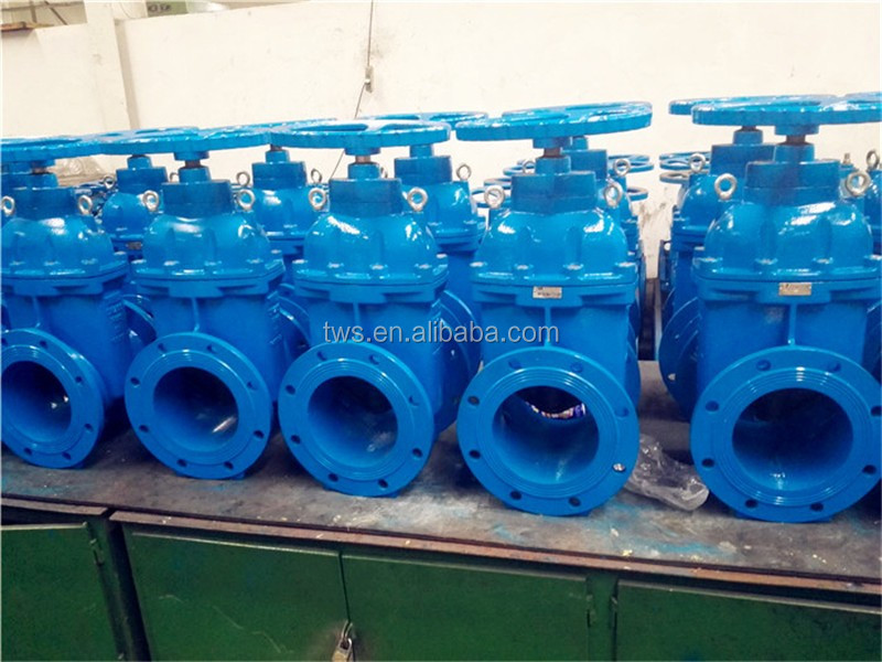 Gost cast iron gate valve drawing dn100