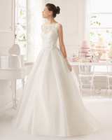 Graceful Party Dresses Diaphanous Off Collar Wedding Dresses Removable Skirt/ Beaded Sash Lace Tailored Wedding Dress China.