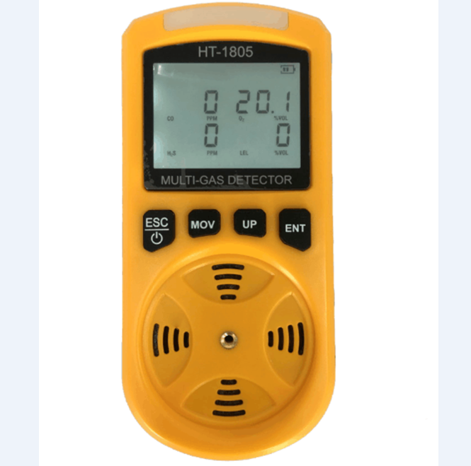 4 in 1 oem/odm/<strong>O2</strong>/CO/H2S/LEL/ pm2.5/ pm10 air quality detector multi-function portable handheld
