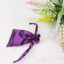 Custom Printed Jewelry Pouches/Bag With Satin Ribbon Drawstring For Packaging