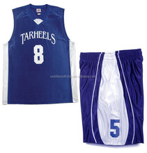 Reversible team custom womens basketball uniform design
