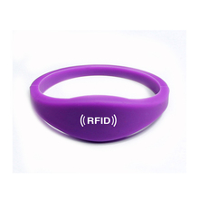 Custom Color Rfid Silicone Sporty Band Ring Bracelet Nfc Ntag213 Wristband For Gym Sport Event Running