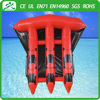 2016 Most popular Red&Black PVC 6 Seaters Inflatable Fly Fish