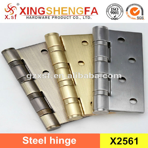 Furniture door hinge type stainless steel wooden door loose pin with screws