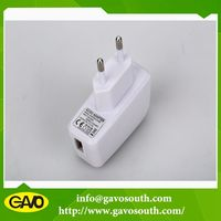 high efficiency power supply 5v 1a EU plug mobile phone charger