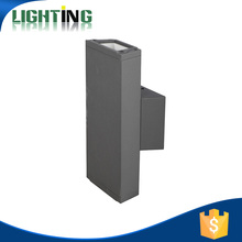 High Quality factory directly modern black outdoor garden security bulkhead led wall light - ip44 rated