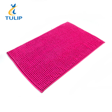 High Quality Super soft Different Color 100% Polyester Chenille Bath Mat