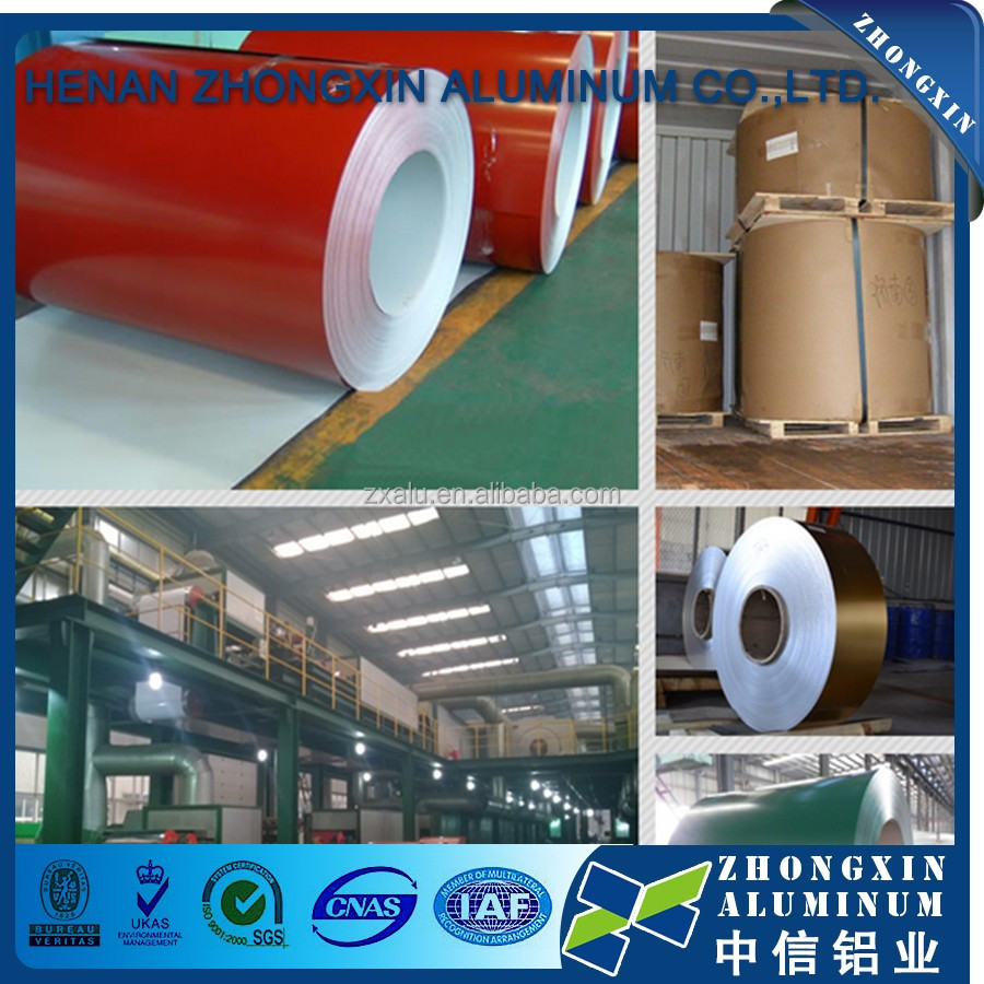 PVDF Coating Aluminum Sheet / Coil Export to South American, Asia, Europe