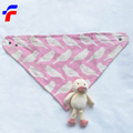 Kerchief reactive printing Cuddle infants baby bibs triangle