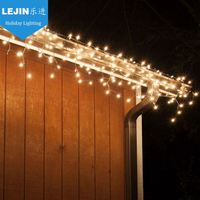 Professional yellow led icicle light troubleshooting Made in China event decoration