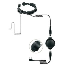 Throat Mic One Side Military Headset For Walkie talkie