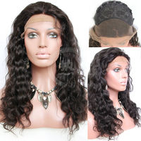 2013 most popular hothair unprocessed 5a top grade virgin brazilian remy hair lace front wigs for black women for sale