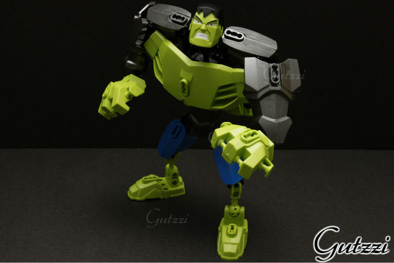 Decool Hulk Free Moving Joint Super Heroes Model Adornament Action Figure