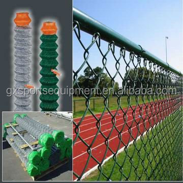 outdoor Security Plastic Coated playground Fence and Venue fence