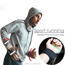 Sport ArmBands Case For iPhone 6 6S 7 Plus Outdoor Waterproof Running Gym Phone Pouch Cover For Samsung S8 Arm Band Bag
