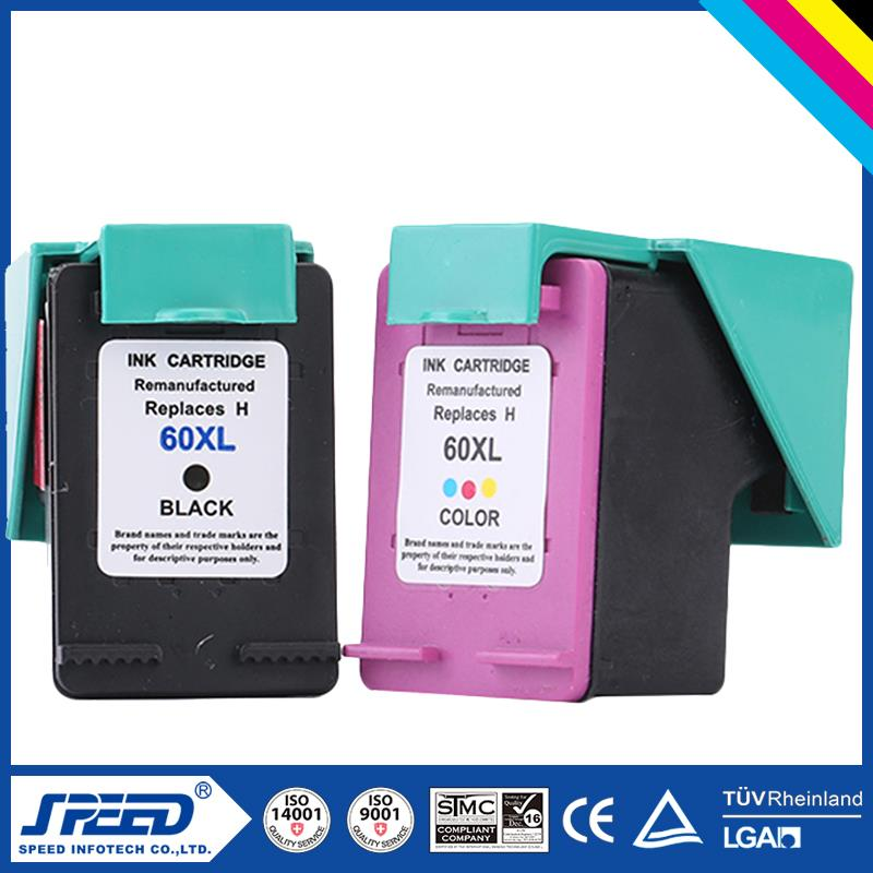 Wholesale Office Supply Black Ink Cartridge For Hp 60