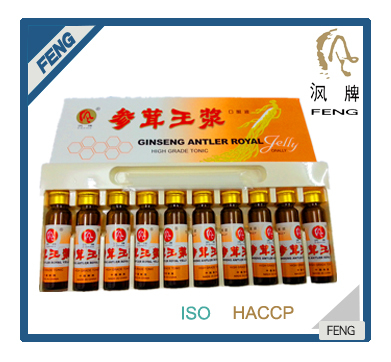 panax ginseng extract oral liquid GINSENG ANTLER ROYAL JELLY health care product energy drink