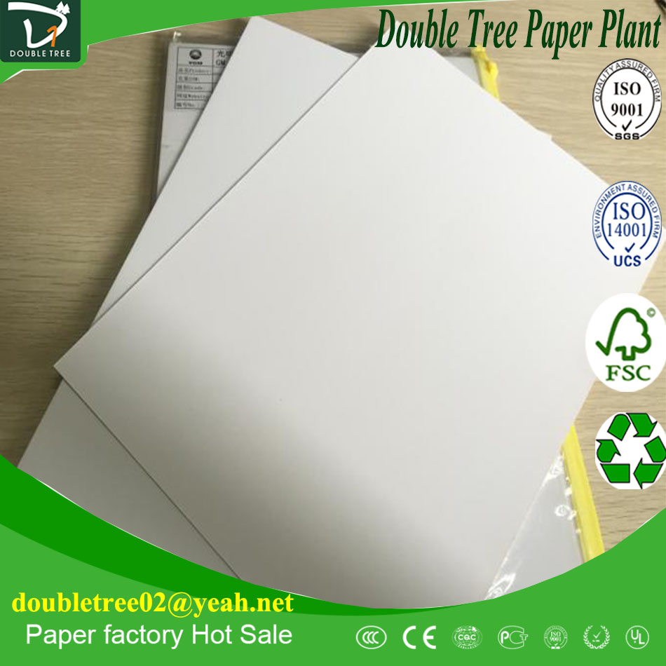 C1S 250gsm Two Sides White Duplex Card Board Paper / FBB Paper / ivory Paper Board