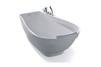 Whirlpool bathtubnique Shaped Free Standing Bathtub