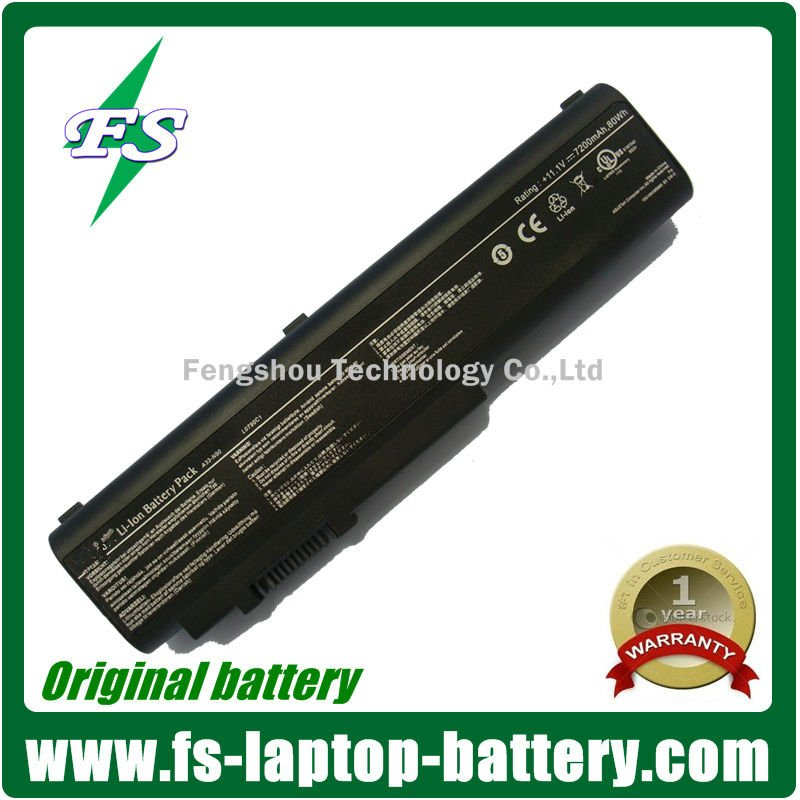 10.8V 7200mAh Li ion laptop battery for Asus A33-N50 A32-N50 battery laptop Series
