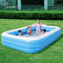SUNWAY Good Quality PVC Paddling Pool for Baby, Inflatable Swimming Pool Noodles, inflatable baby bath pool
