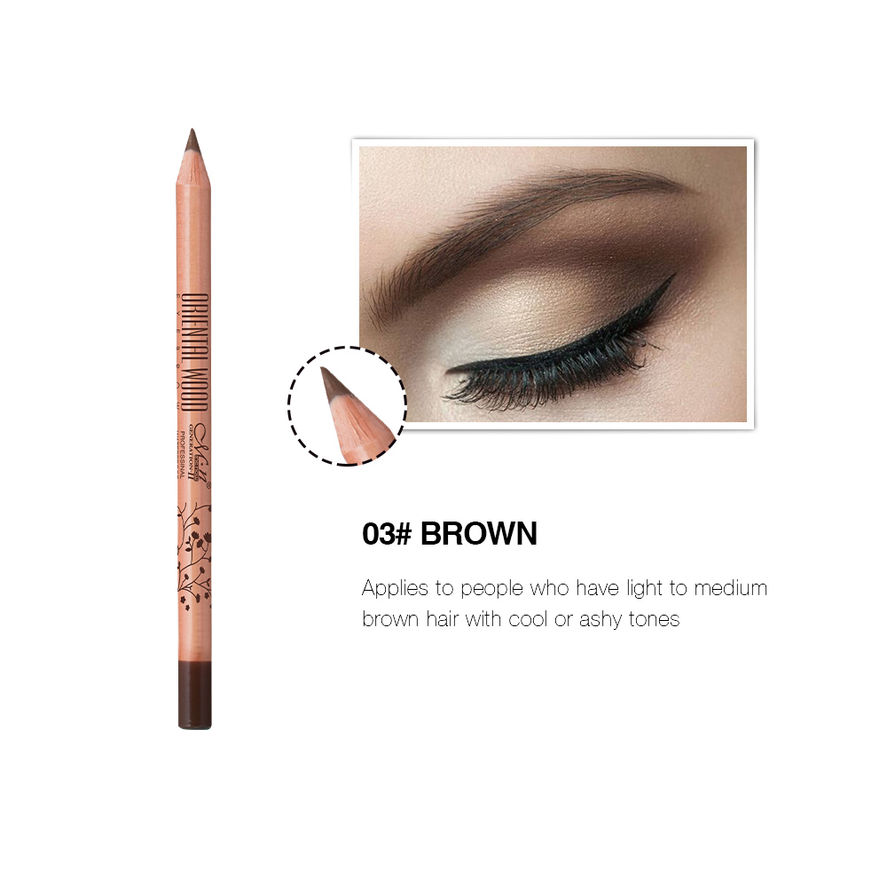 Menow Makeup American Wood Private Label Eyebrow Pencil