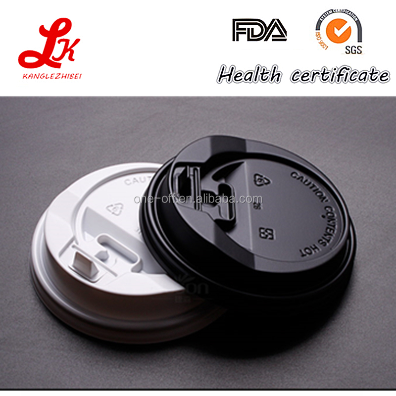 disposable plastic ps lid for coffee paper cup / paper cup cap / paper cup cover