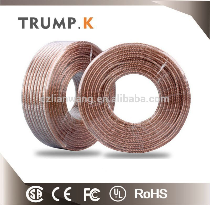 Speak cable audio use on car copper wire with CE Certification