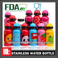 Customized BPA Free Food Grade Promotional Children Drinking Aluminum Bottle