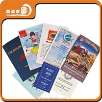 company China cheap 157g art paper brochure printing