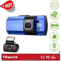 Manual Car Camera HD DVR with dual camera 12.0mp 2.7 inch A10 chipset