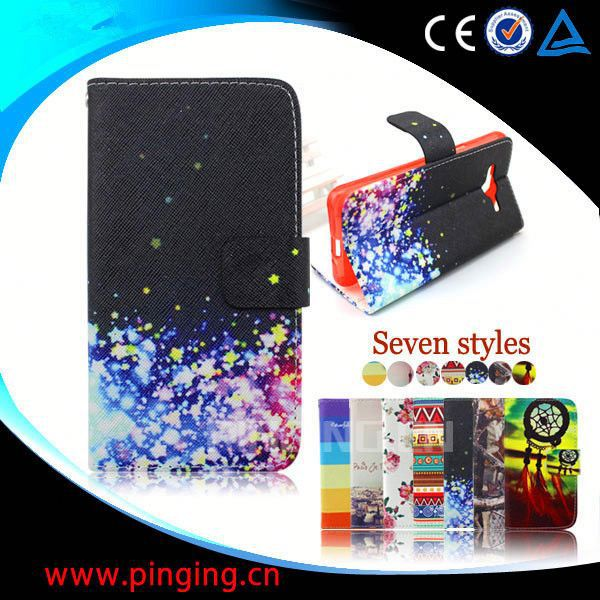 flip leather cover case for nokia c6