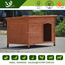 Custom cheap solid wood dog houses for extra large dog
