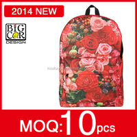 2014 unique gifts for women,unique gift for wife,unique wholesale gifts from bigcar design Sublimation backpack