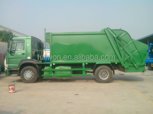 famous heavy duty 6x4 Manual dustcart for exporting