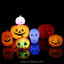 halloween accessory cheaper plastic pumpkin indoor lamp post decorations