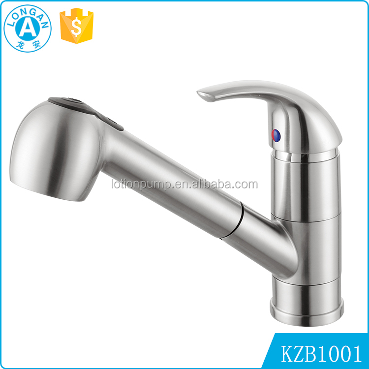 Oem Service Hot Sale brush nickle Pull Out Down sink mixer water kitchen tap