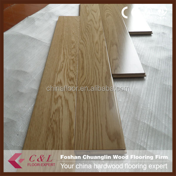 Popular solid oak hardwood Parket floor
