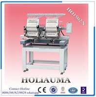 2 Head computerized embroidery machine price 15 color embroidery machine sewing